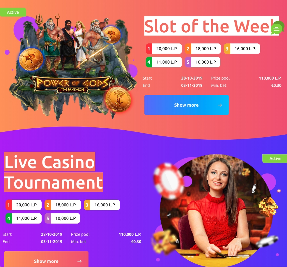 Cadoola Casino India Tournaments